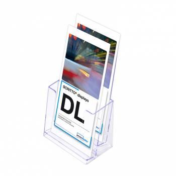 Odlewana kieszeń na ulotki 2 x DL (1/3A4)