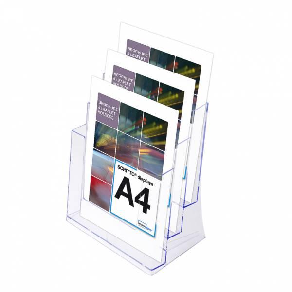 Odlewana kieszeń SCRITTO na ulotki 3 x A4