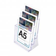 Odlewana kieszeń SCRITTO na ulotki 3 x A5