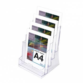 Odlewana kieszeń na ulotki 4 x A4