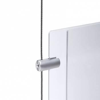 Boczny uchwyt na panel do 4 mm