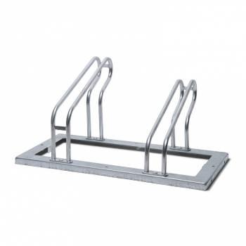 Metalowy stojak na 2 rowery