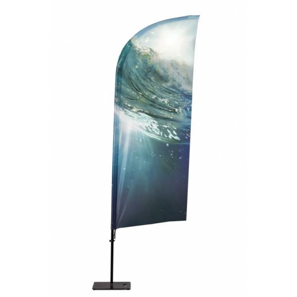Beachflag Alu Wind 310cm Total Height