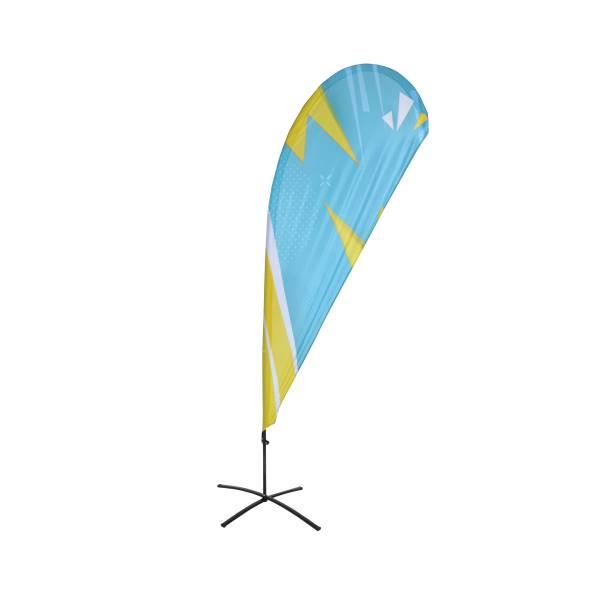 Beach Flag Budget Wind oraz Drop