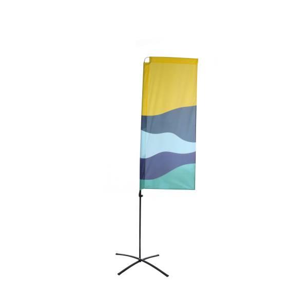 Grafika do Beach Flag Budget Square