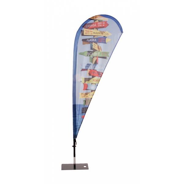 Beachflag Fiber Wind/Drop Small