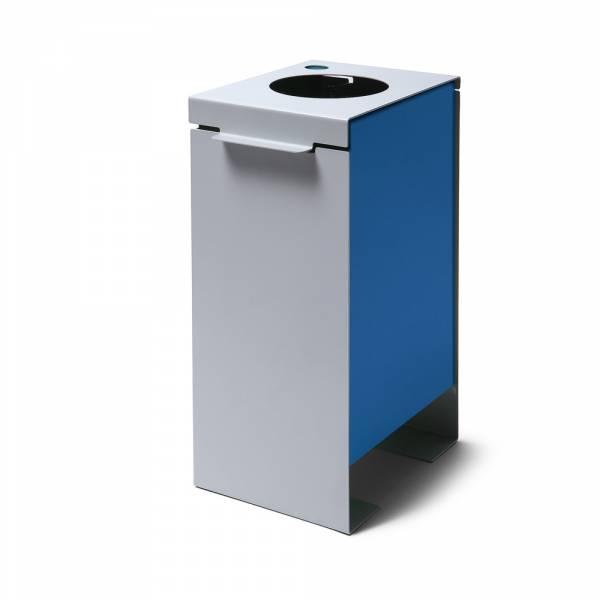 Kosz na śmieci, niebieski
