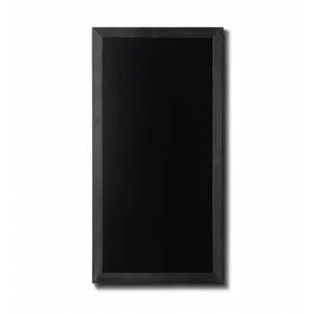 Drewniana tablica 56x100 cm, czarna