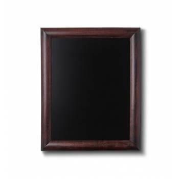 Drewniana tablica 30x40 cm, ciemny brąz