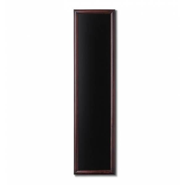 Drewniana tablica 35x150 cm, ciemny brąz