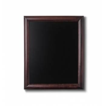Drewniana tablica 40x50 cm, ciemny brąz