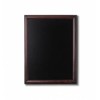 Drewniana tablica 50x60 cm, ciemny brąz
