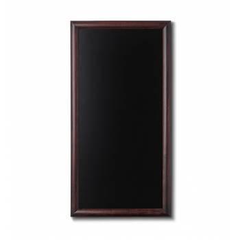 Drewniana tablica 56x100 cm, ciemny brąz