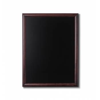 Drewniana tablica 60x80 cm, ciemny brąz