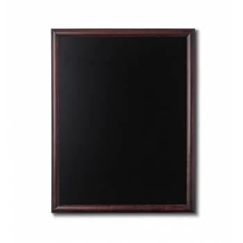 Drewniana tablica 70x90 cm, ciemny brąz