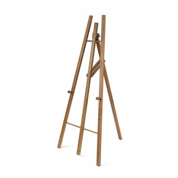 Drewniana sztaluga na tablice kredowe