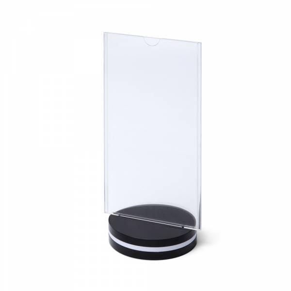 SCRITTO Plastikowy stojak na menu 100x200mm, obrotowy