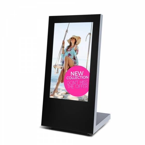 Digital A-board z monitorem 43' - czarny
