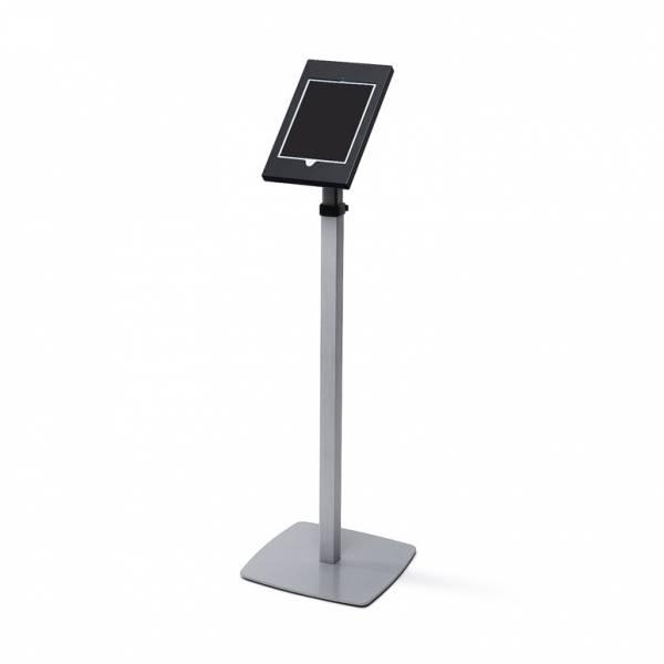 Slimcase Wolnostojący teleskopowy stojak na tablet - czarny
