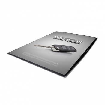 DeskWindo Cienki prezenter na blat A4