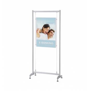 Stojak Elypse z akrylową kieszenią na plakat A1