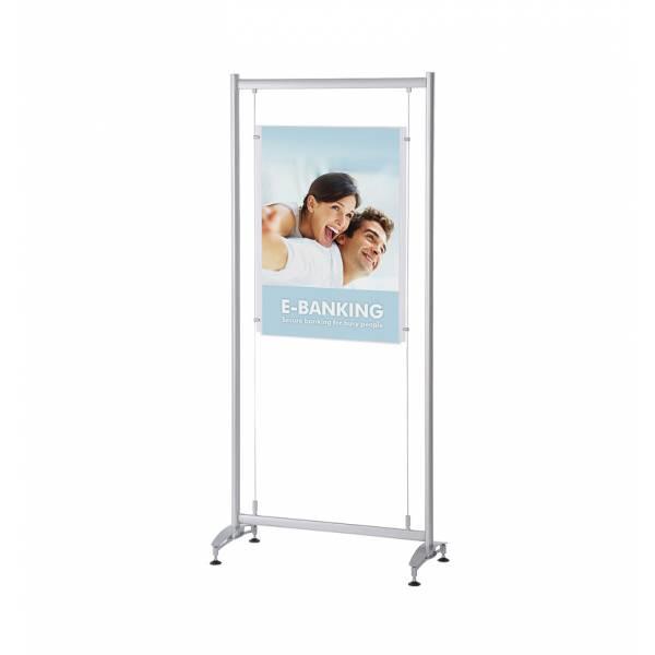 Stojak z kieszenią akrylową na plakat Elypse