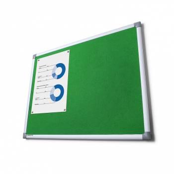 Tablica tekstylna SCRITTO 100x150cm Zielona