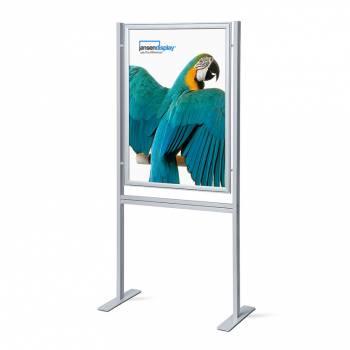 Infoboard 70x100 , narożniki ostre, profil 37 mm