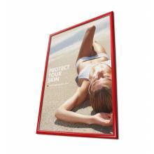 Rama zatrzaskowa 70x100 cm - czerwona