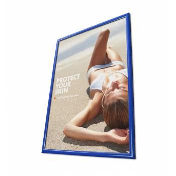 Rama zatrzaskowa 50x70 cm - niebieska
