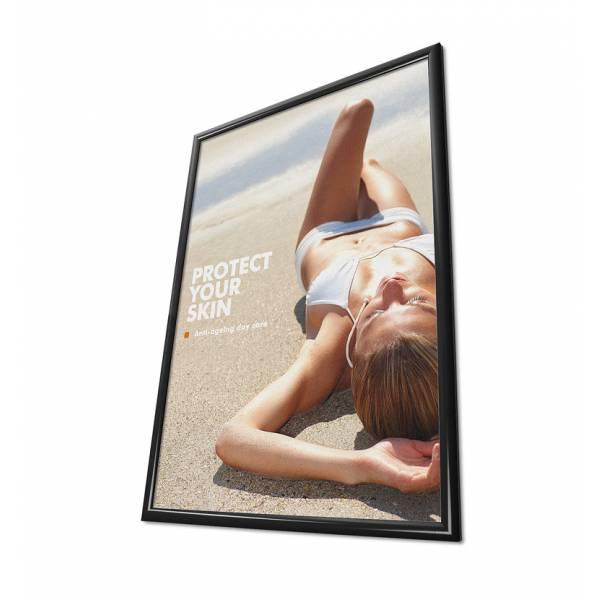 Rama zatrzaskowa 70x100 cm - czarna