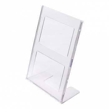 Odlewany stojak informacyjny typu L format A4 pionowo