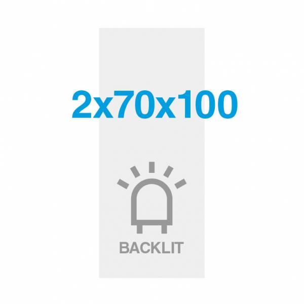 Wydruk Premium backlit 200g/m2, satynowa powierzchnia, 700x2000mm