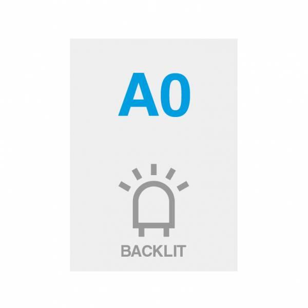 Wydruk Premium backlit 200g/m2, satynowa powierzchnia, 841x1189mm