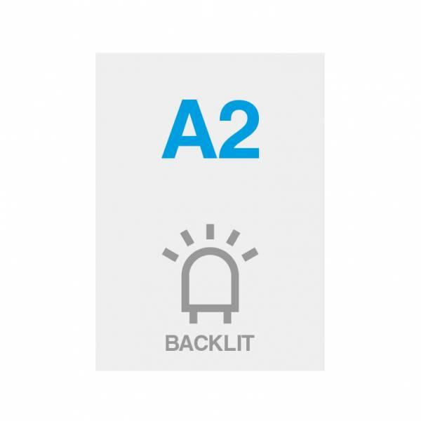 Wydruk Premium backlit 200g/m2, satynowa powierzchnia, 420x594mm