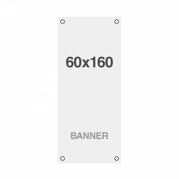 Wydruk bannerowy Symbio 510 g / m2, 600x1600mm, wszyte otwory w narożnikach