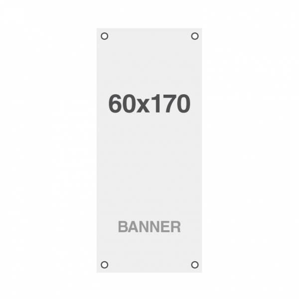 Banner Premium No Curl 220 g / m2, wykończenie matowe, 170x220cm, wszyte otwory w narożnikach