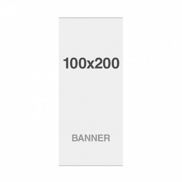 Premium banner No Curl 220g / m2, 1000x2000mm, z taśmą magnetyczną