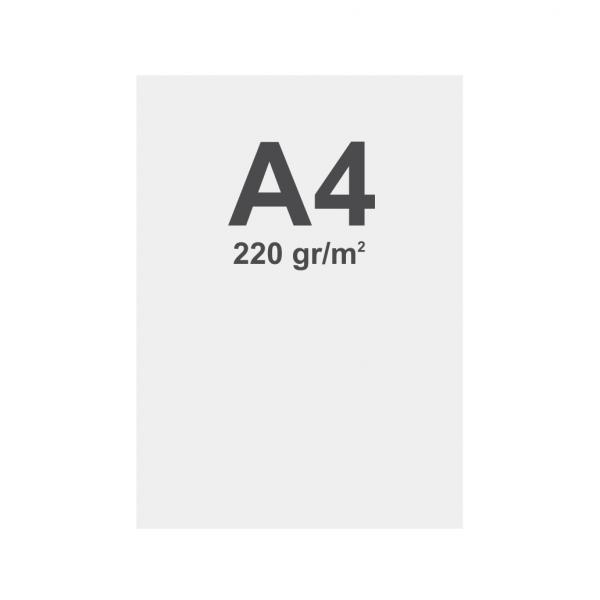 Latex No curl media A4 matt, 220 g m2
