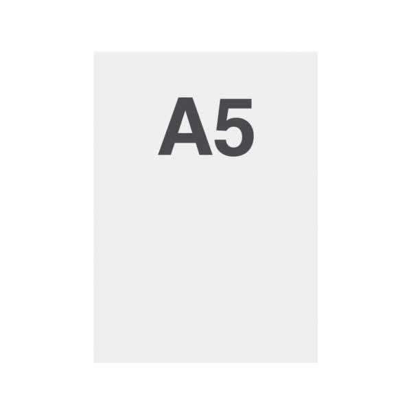 Wysokiej jakości wydruk na papierze 135g/m2, satynowa powierzchnia, A5 (148x210mm)