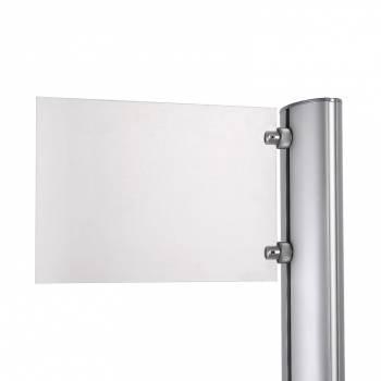Tabliczka na logo do stojaka Multistand 280x180 mm