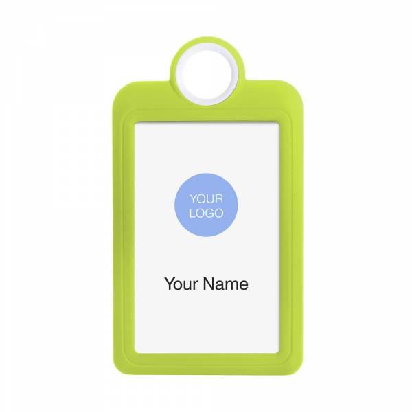 Kolorowy identyfikator - wersja pionowa - żółty