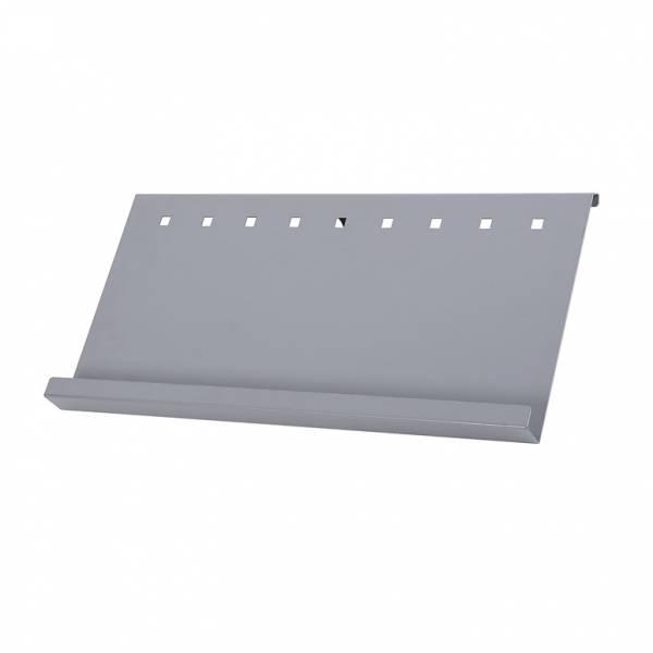 Metalowa półka na ulotki
