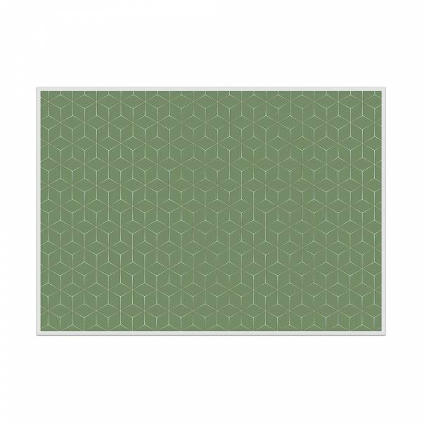 Podkładka Hexagon zielona
