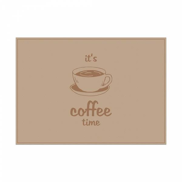 Podkładka czas na kawę, jasny brąz