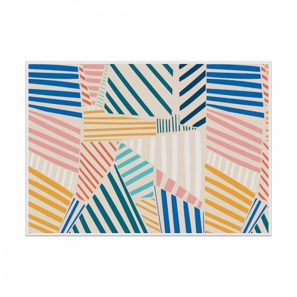 Podkładka kolorowe kształty 2
