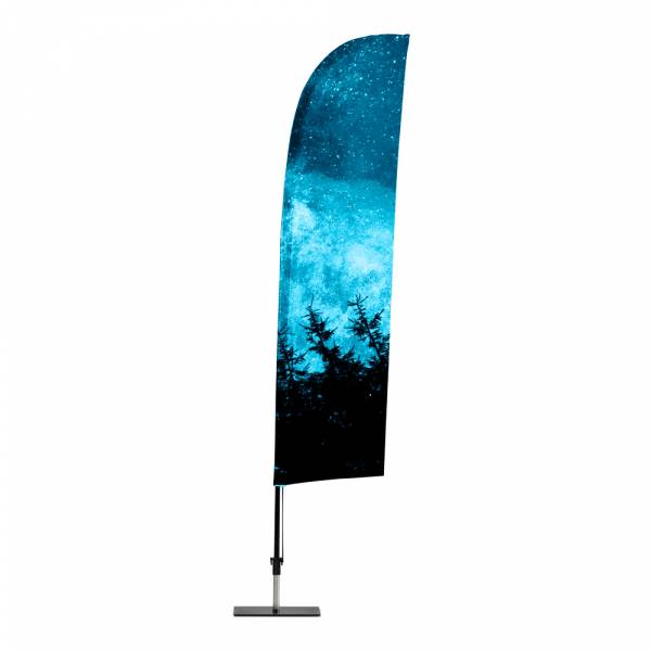 Promo Flag Wind Graphic