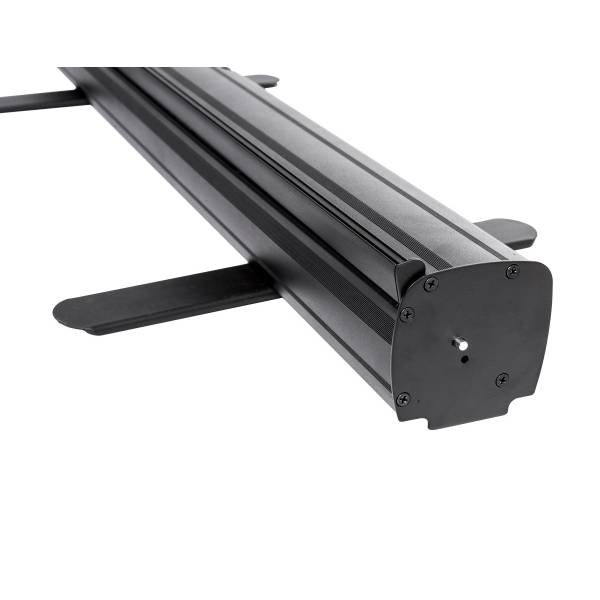 Roll-Banner Challenger Black 85 cm