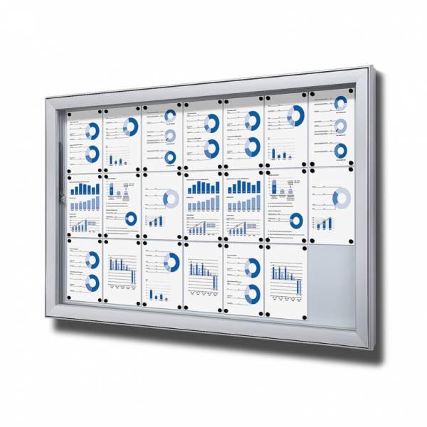Gablota do użytku zewnętrzenego typu L, format 21xA4