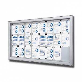 Gablota do użytku zewnętrzenego typu L, format 24xA4